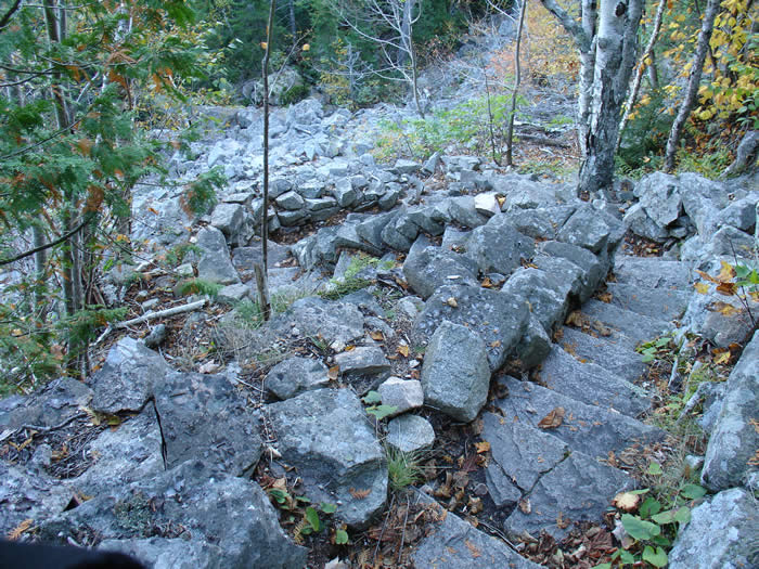Another wonderful display of trail construction in Acadia National Park