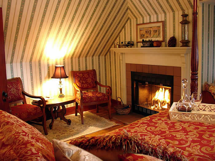 The Kingsleigh Turret Suite near Acadia National Park in Maine