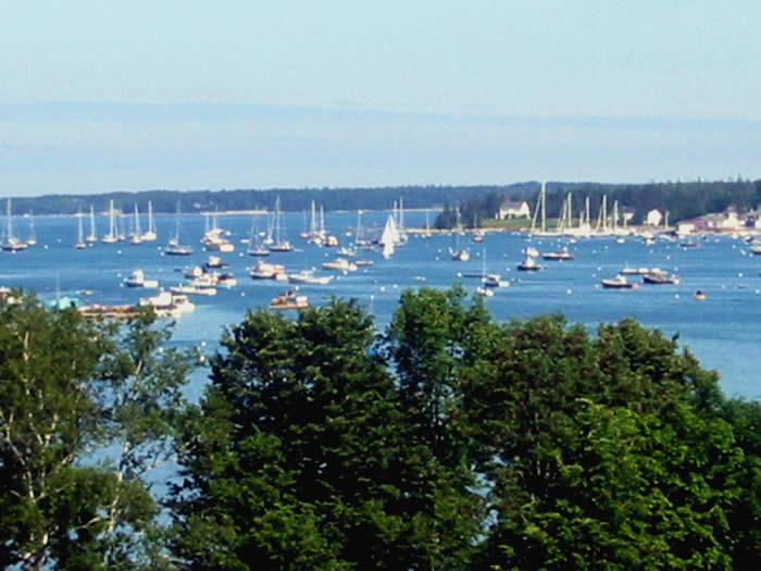 Southwest Harbor, Maine on Mount Desert Island